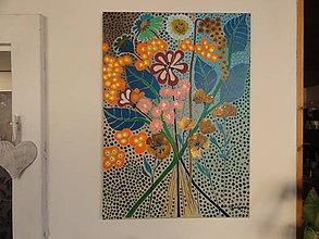 Obrazy - Ako kvitne radosť - 5738752_