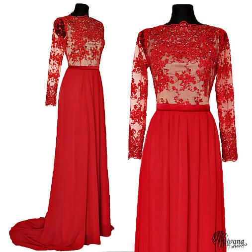 Spoločenské šaty pre Antonia 2   Dyona - SAShE.sk - Handmade Šaty 1c6d1d1ed13