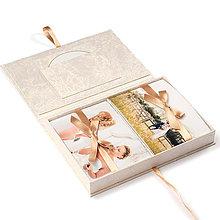Papiernictvo - Photo Box Wedding na foto 13x18 cm - 5736398_