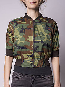 Kabáty - Bomberová bunda - 5742689_