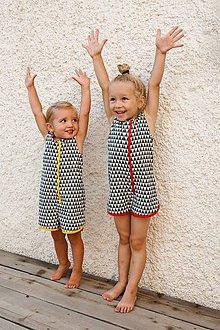 Detské oblečenie - Overáliky - 5739543_