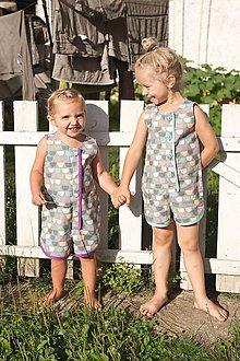 Detské oblečenie - Overáliky - 5739612_