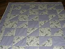 Úžitkový textil - ...levanduľková deka... - 5739873_