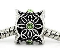 Korálky - Luxusná štrasová pandorková korálka - 5741507_