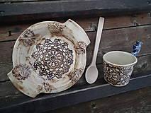 Nádoby - Folk tanier hlboký Sedmikráska - 5744184_