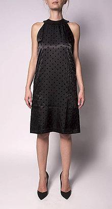 Šaty - Malé čierne s bodkami - 5745195_
