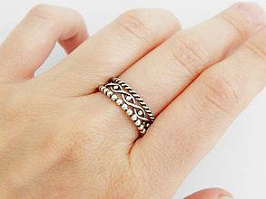 Prstene - 925 sada strieborných prsteňov - 5743193_