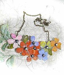 Náhrdelníky - také ...nežné...flowers 8 - 5744870_