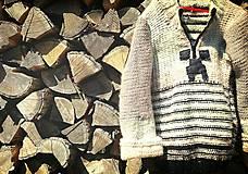 Detské oblečenie - Svetrík pre chlapcov... - 5746443_