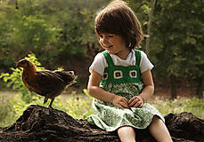 Detské oblečenie - V zelenom hájiku - 5746412_