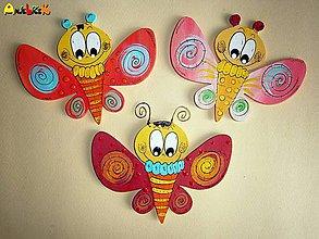 Magnetky - Magnetka - motýľ - 5747554_