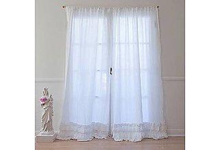 Úžitkový textil - Záves Shabby chic - 5749522_