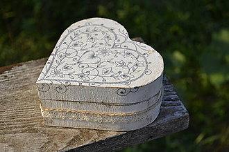 Krabičky - svadobná krabička - 5749493_