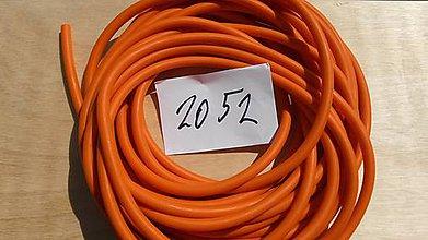 Suroviny - Dankung 2052, oranžová; 50cm - 5750772_