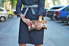 Šaty - Denimové šaty - 5749146_