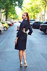 Šaty - Denimové šaty - 5749150_