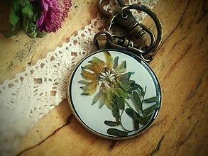 Kľúčenky - Kľúčenka z herbára - 5748639_