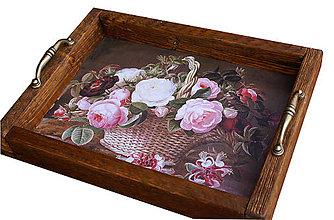 Nádoby - Tacka kvety - 5748421_