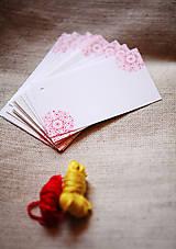 Papiernictvo - Folk visačky/menovky *2 - 5752030_