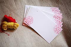 Papiernictvo - Folk visačky/menovky *2 - 5752032_