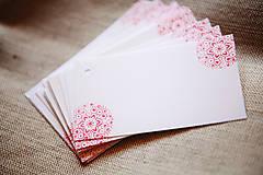 Papiernictvo - Folk visačky/menovky *2 - 5752033_
