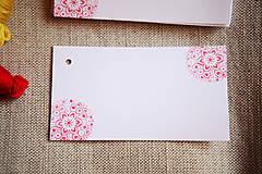 Papiernictvo - Folk visačky/menovky *2 - 5752034_