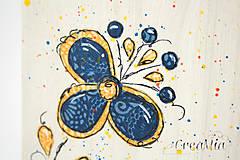 Krabičky - Kvetinový stojan na servítky (folklórny) - 5751870_