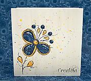 Krabičky - Kvetinový stojan na servítky (folklórny) - 5751871_