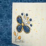 Krabičky - Kvetinový stojan na servítky (folklórny) - 5751872_