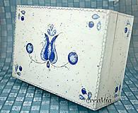- Folklórna krabička na čajové vrecúška - 5751900_