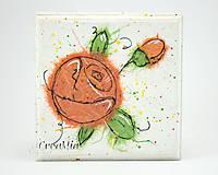 Krabičky - Kvetinová šperkovnica - 5751932_