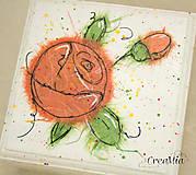 Krabičky - Kvetinová šperkovnica - 5751934_