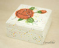 Krabičky - Kvetinová šperkovnica - 5751936_
