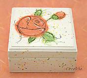 Krabičky - Kvetinová šperkovnica - 5751937_
