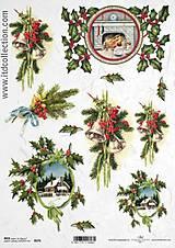 - ryžový papier Vianoce - 5753350_