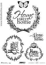 - ryžový papier Home Sweet Home - 5753478_