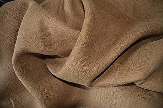 Textil - Ľan hnedý - 5751466_