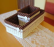 Košíky - Košík romantik - 5752108_