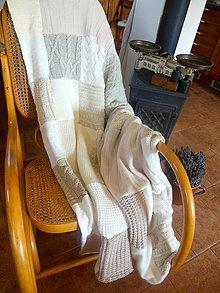 Úžitkový textil - Provensálska s čipkou - 5751445_