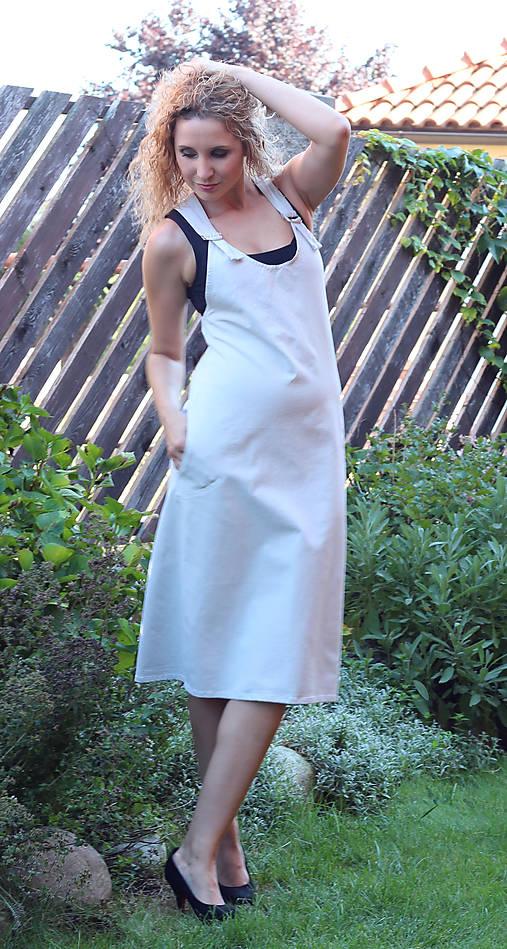 Světle šedá šatová sukně   ladeesse - SAShE.sk - Handmade Šaty 54638680bc