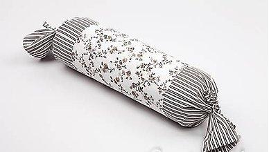 Úžitkový textil - vankúšik valec ku posteľnej bielizni - 5756235_