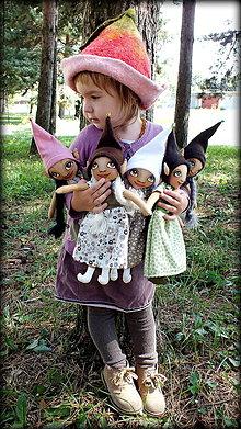 Bábiky - ♥ Svetlomilky ELFKY - Vea, Estel, Airë, Indil a Aini ♥ - 5755222_
