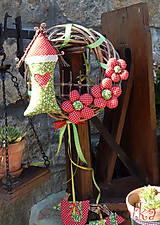 Dekorácie - Venček na dvere - Za Jahodovým Vŕškom (2) - 5756866_