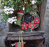 Dekorácie - Venček na dvere - Za Jahodovým Vŕškom (2) - 5756874_