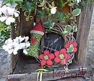 Dekorácie - Venček na dvere - Za Jahodovým Vŕškom (2) - 5756886_