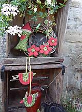 Dekorácie - Venček na dvere - Za Jahodovým Vŕškom (2) - 5756887_