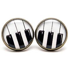 Náušnice - PIANO PIANISSIMO - 5756438_