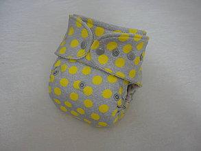 Detské doplnky - Slniečka - Nohavičková plienka Natural (veľ. M-L-XL) + vkladačka - 5755149_