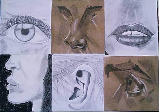 Casti Tvare Kresba Z Mesta Sashe Sk Handmade Kresby