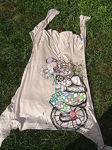 Tričká - Tričko-šaty - 5758107_